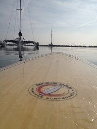 SUP in Christchurch Harbour